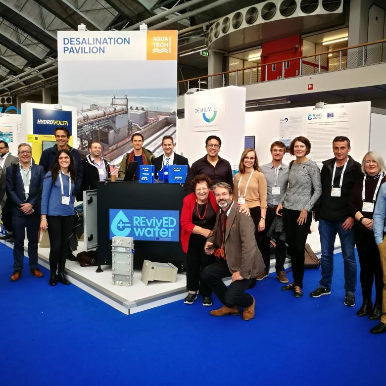 REvivED water partners at Aquatech Amsterdam